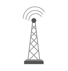 antenna telecommunications icon image vector image