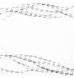 distorted halftone dot modern pop-art layout vector image