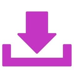 Download flat violet color icon vector