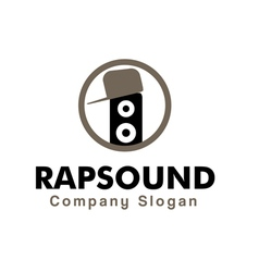Rap sound design vector