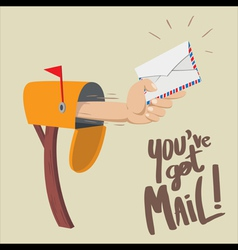 You have got mail vector
