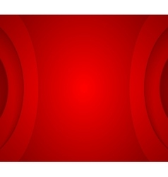 Abstract red wavy corporate background vector
