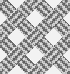 Monochrome background of diagonal pattern vector