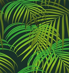 Foliage seamless pattern vector