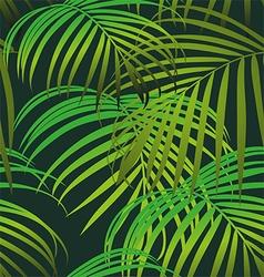 Foliage seamless pattern vector