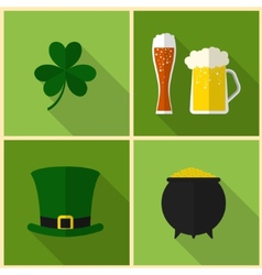 Saint patricks day modern flat design vector