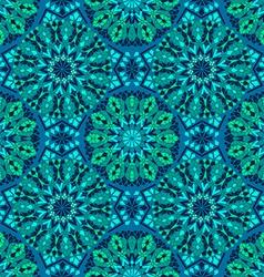 Seamless pattern of mosaic vector image