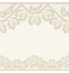 Invitation anniversary card with label for your vector image