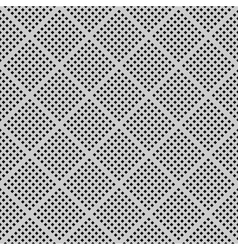Seamless checked perforated texture vector image vector image