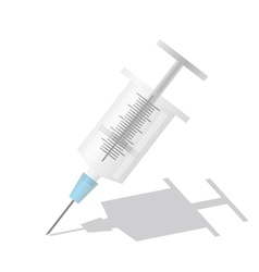 syringe vector image vector image