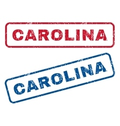 Carolina rubber stamps vector