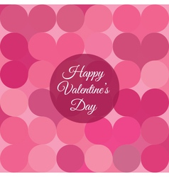 valentines day card background vector image