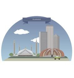 Islamabad vector image