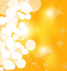 Shimmering christmas background vector