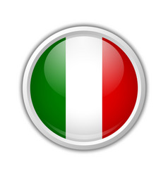 Italian badge or icon vector image