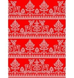 lace snowflakes borders vector image vector image