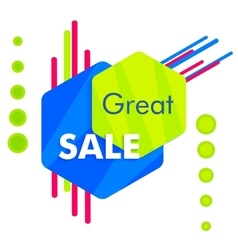 Special offer sale tag discount symbol mega sale vector image