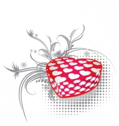 valentines gift 3 vector image vector image