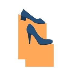 Womens beautiful shoes vector image