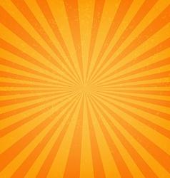 Vintage Sunburst Poster vector image