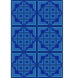 Blue geometric pattern 2 vector