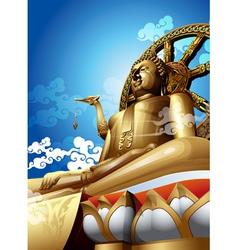 Big buddha vector