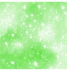 Glittery green Christmas background EPS 8 vector image