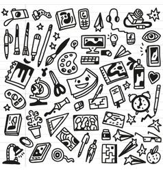 Art Doodles - vector image