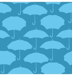 Seamless pattern with umbrellas for background vector