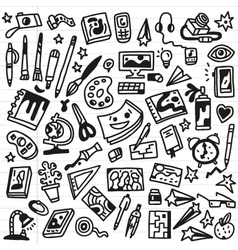 Art Doodles - vector image