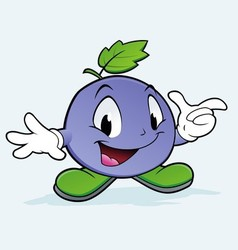 Grape Berry vector image