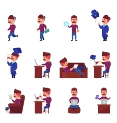 Online learning character set vector