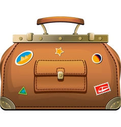 Travel luggage vector