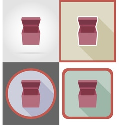 delivery flat icons 02 vector image