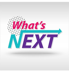 Whatnext vector