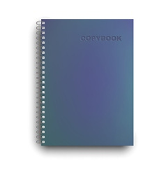 Copybook isolated vector
