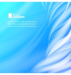 Abstract blue tornado vector image vector image
