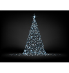 Christmas fir background EPS 8 vector image vector image