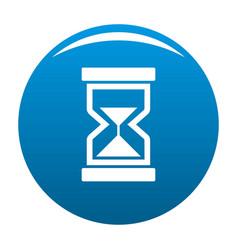 Cursor loading element icon blue vector