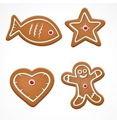 Ginger bread vector
