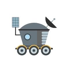 Moonwalker flat icon vector