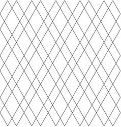 seamless diamonds pattern vector image vector image