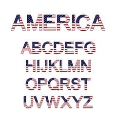 America font vector
