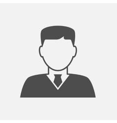 Businessman avatar icon vector image