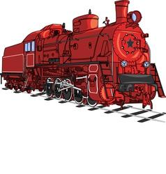 Locomotive v vector