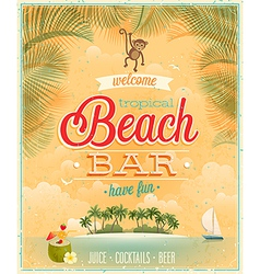 Beach bar2 vector