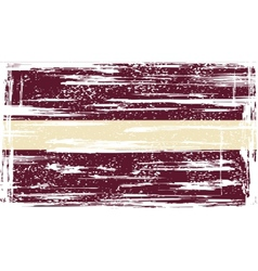 Latvia grunge flag vector