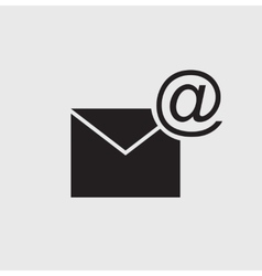 Concept representing email envelope vector image