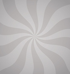 Gray background with twisted curves vector image vector image