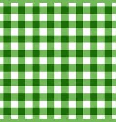green tablecloth pattern design vector image vector image